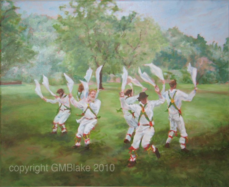 Morris 1: Half-Gyp is one of the images requested by both Blick and Vestal Life. 20 x 16 in., oils on canvas
