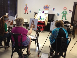 Exploring Oil Painting class