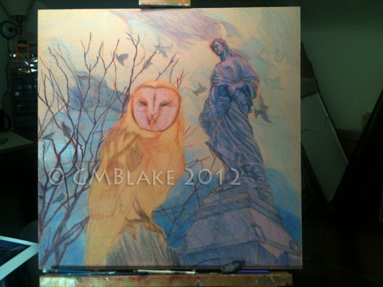 Owl and Stone Goddess- stage 9