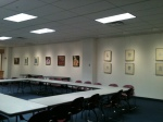 "My show, ""Up 'til Now,"" at the Broome County Public Library"