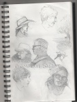 Art Show sketches