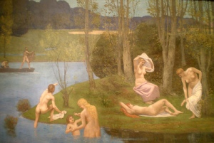 'Summer' by Pierre Puvis de Chavannes, 1891