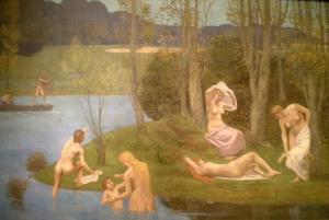'Summer' by Pierre Puvis de Chavannes, 1891