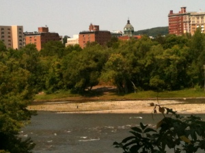 Binghamton, across the Susquehanna