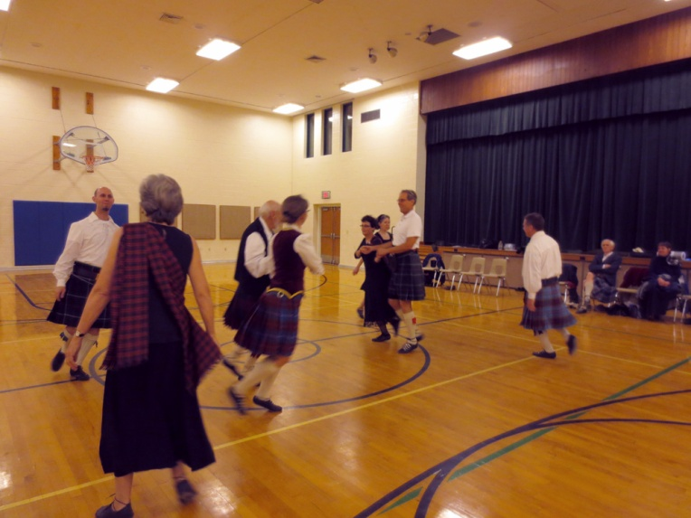 Scottish Country Dancers