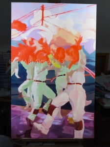 Unlikely Dance: Golden Clouds, stage 8