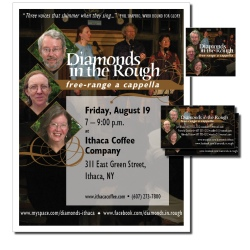 Diamonds in the Rough, identity package