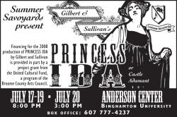 Summer Savoyards performance print ad