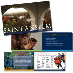 Saint Anselm College small viewbook, 1/3