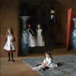 The Daughters of Edward Darley Boit, by John Singer Sargent 1882