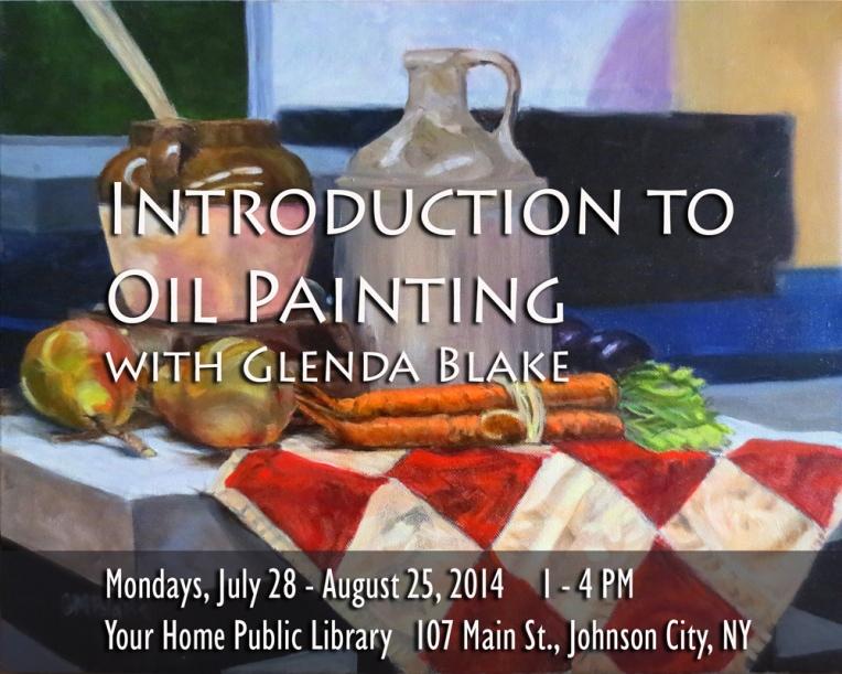 Intro to Oil Painging