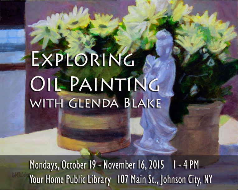 Exploring Oil Painting with Glenda Blake